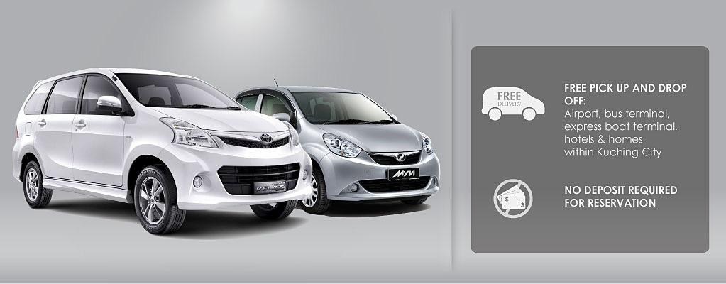cheap budget car rental Kuching